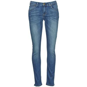 Oblačila Ženske Kavbojke slim Lee JADE Modra