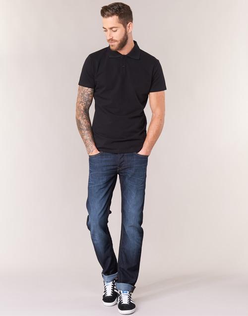 Oblačila Moški Jeans straight Lee DAREN Modra
