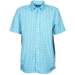 Oblačila Moški Srajce s kratkimi rokavi Pierre Cardin 539236202-140 Modra