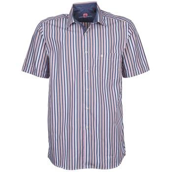Oblačila Moški Srajce s kratkimi rokavi Pierre Cardin 514636216-184 Modra / Rožnata