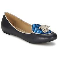 Čevlji  Ženske Balerinke Etro 3922 Modra