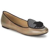 Čevlji  Ženske Balerinke Etro 3922 Pozlačena