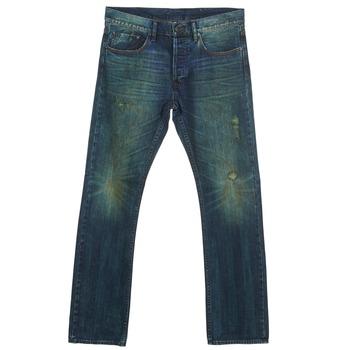 Oblačila Moški Jeans straight Ünkut Six Modra
