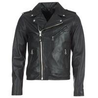 Oblačila Moški Usnjene jakne & Sintetične jakne Schott LEVOQ Črna