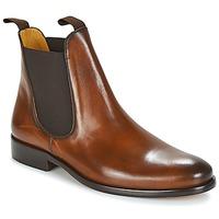 Čevlji  Moški Polškornji Brett & Sons BERNARD Cognac