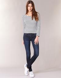 Oblačila Ženske Jeans skinny G-Star Raw LYNN MID SKINNY Slander / Modrá / Superstretch / Vintage