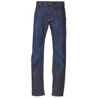 Oblačila Moški Jeans straight G-Star Raw 3301 STRAIGHT Hydrite / Denim / Tmavá / Vintage
