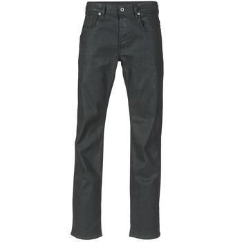Oblačila Moški Jeans straight G-Star Raw 3301 STRAIGHT Črna