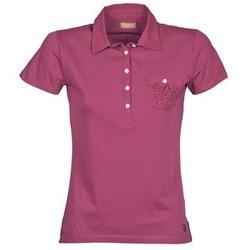 Oblačila Ženske Polo majice kratki rokavi Napapijri EZE Rožnata