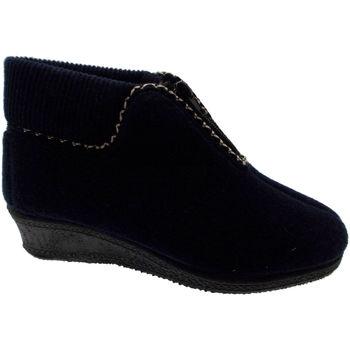 Čevlji  Ženske Gležnjarji Davema DAV558bl blu