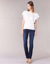 Oblačila Ženske Jeans straight Pepe jeans GEN Modra / H06