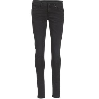 Oblačila Ženske Jeans skinny Pepe jeans SOHO S98 / Črna