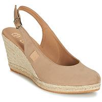Čevlji  Ženske Sandali & Odprti čevlji Betty London TECHNO Bež