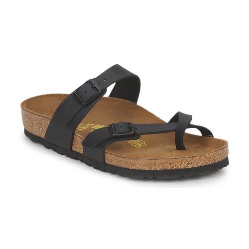 Čevlji  Ženske Natikači Birkenstock MAYARI Črna