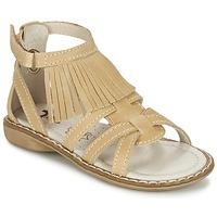 Čevlji  Deklice Sandali & Odprti čevlji Citrouille et Compagnie CONQUITA Bež