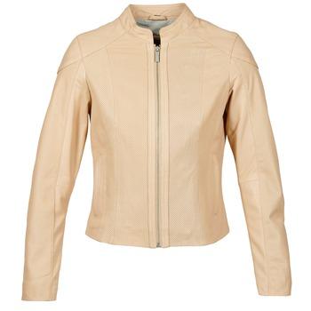 Oblačila Ženske Usnjene jakne & Sintetične jakne Oakwood 61848 Bež / Nude