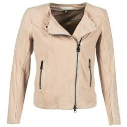 Oblačila Ženske Usnjene jakne & Sintetične jakne Oakwood 61903 Rožnata / Svetla