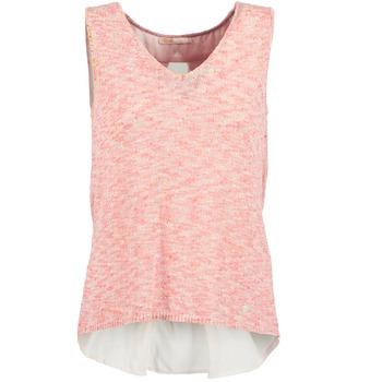Oblačila Ženske Majice brez rokavov Les Petites Bombes NODOLA Koralna