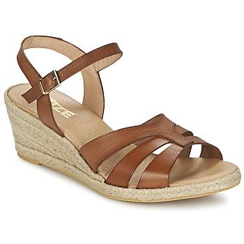 Čevlji  Ženske Sandali & Odprti čevlji So Size ELIZA Kostanjeva