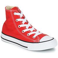 Čevlji  Otroci Visoke superge Converse CHUCK TAYLOR ALL STAR CORE HI Rdeča