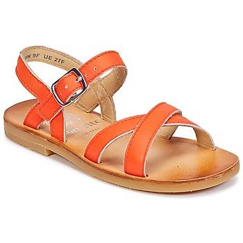 Čevlji  Deklice Sandali & Odprti čevlji Start Rite NICE II Oranžna