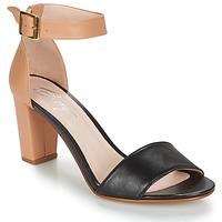 Čevlji  Ženske Sandali & Odprti čevlji Betty London CRETOLIA Nude / Črna