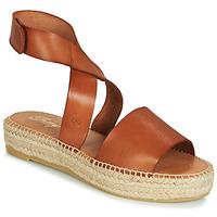 Čevlji  Ženske Sandali & Odprti čevlji Betty London EBALUIE Kamel
