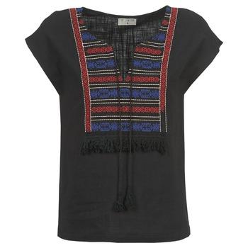 Oblačila Ženske Topi & Bluze Betty London ETROBOLE Črna