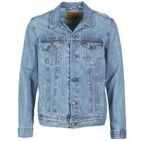 Oblačila Moški Jeans jakne Levi's THE TRUCKER JACKET Niebieski
