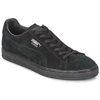 Čevlji  Nizke superge Puma SUEDE CLASSIC + Črna / Siva