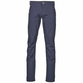 Oblačila Moški Hlače Chino / Carrot Selected THREE PARIS Modra