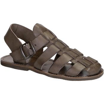 Čevlji  Ženske Sandali & Odprti čevlji Gianluca - L'artigiano Del Cuoio 502 U FANGO GOMMA Fango