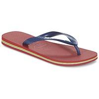 Čevlji  Japonke Havaianas BRASIL LOGO Rdeča