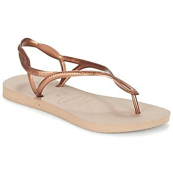 Čevlji  Ženske Japonke Havaianas LUNA Bronze