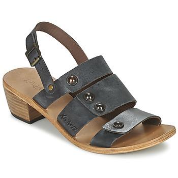 Čevlji  Ženske Sandali & Odprti čevlji Kickers KHÔOL Črna