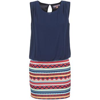 Oblačila Ženske Kratke obleke Moony Mood IEVELI Modra