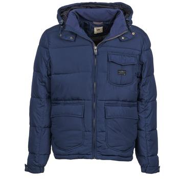 Oblačila Moški Puhovke Lee LOCO PUFFA Modra