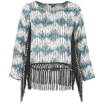 Oblačila Ženske Majice z dolgimi rokavi Mexx AMBRELI Modra