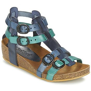 Čevlji  Deklice Sandali & Odprti čevlji Kickers BOMDIA Modra
