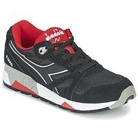 Čevlji  Nizke superge Diadora N9000 NYLON II Črna / Rdeča