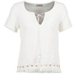 Oblačila Ženske Topi & Bluze Betty London ECHRALE Kremno bela
