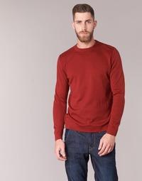 Oblačila Moški Puloverji BOTD ELABASE ROUND Rdeča