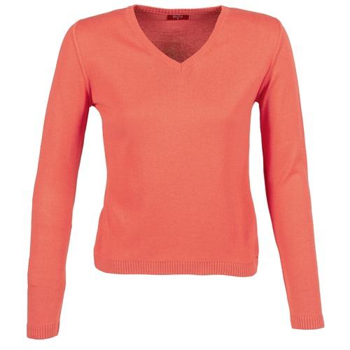 Oblačila Ženske Puloverji BOTD ECORTA VEY Oranžna