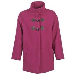 Oblačila Ženske Plašči Benetton DILO Rožnata