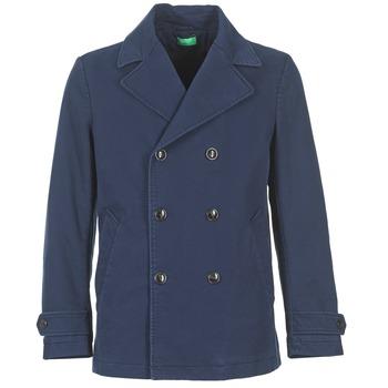 Oblačila Moški Plašči Benetton FIMARA Modra