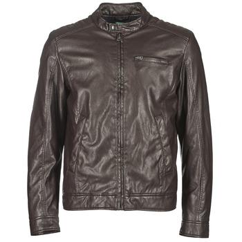 Oblačila Moški Usnjene jakne & Sintetične jakne Benetton HOULO Kostanjeva