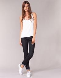 Oblačila Ženske Jeans straight Yurban IESQUANE Črna