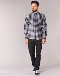 Oblačila Moški Jeans straight Yurban IEDABALO Črna