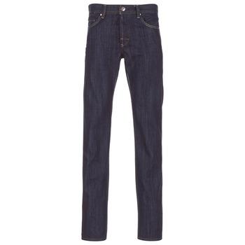 Oblačila Moški Jeans straight Yurban IEDABALO Modra / Brut
