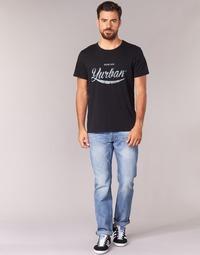 Oblačila Moški Jeans straight Yurban IEDABALO Modra / Svetla